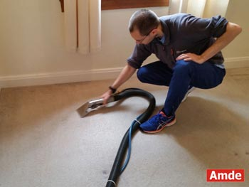 living room carpet cleaning in Dalkeith house