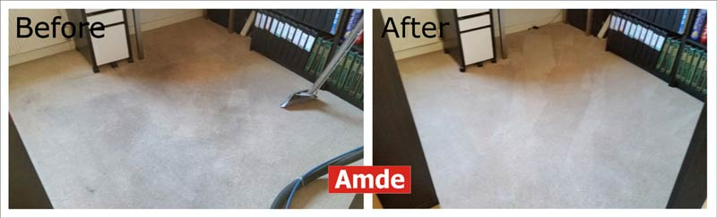 carpet cleaning in Rosewell flat