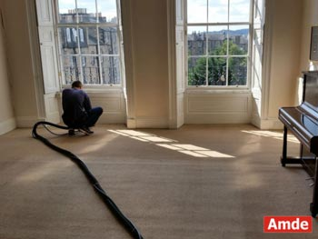 large living room carpet cleaning Rosewell