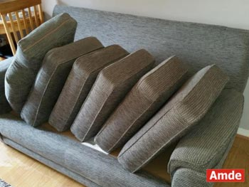 large three seater sofa sofa cleaning in Edinburgh EH7