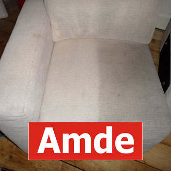 Sofa cleaning efect before and after