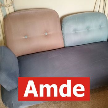 oryginal modern 2seater sofa cleaning