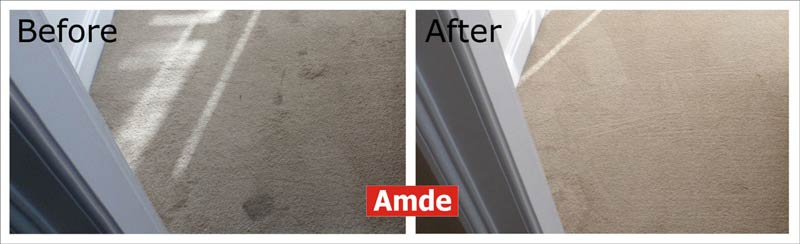 dinning room carpet cleaning in Edinburgh's flat
