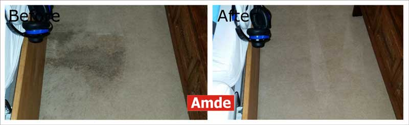 bedroom carpet cleaning services with big stain