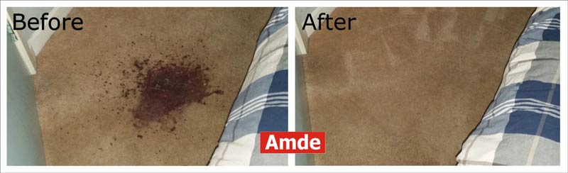 carpet cleaning red wine stain removal