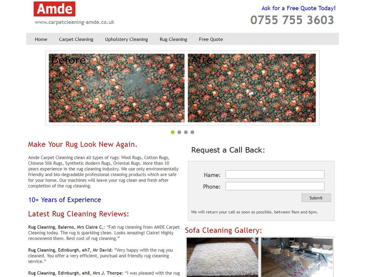 Amde Rug Cleaning Edinburgh Professional Rug Cleaning